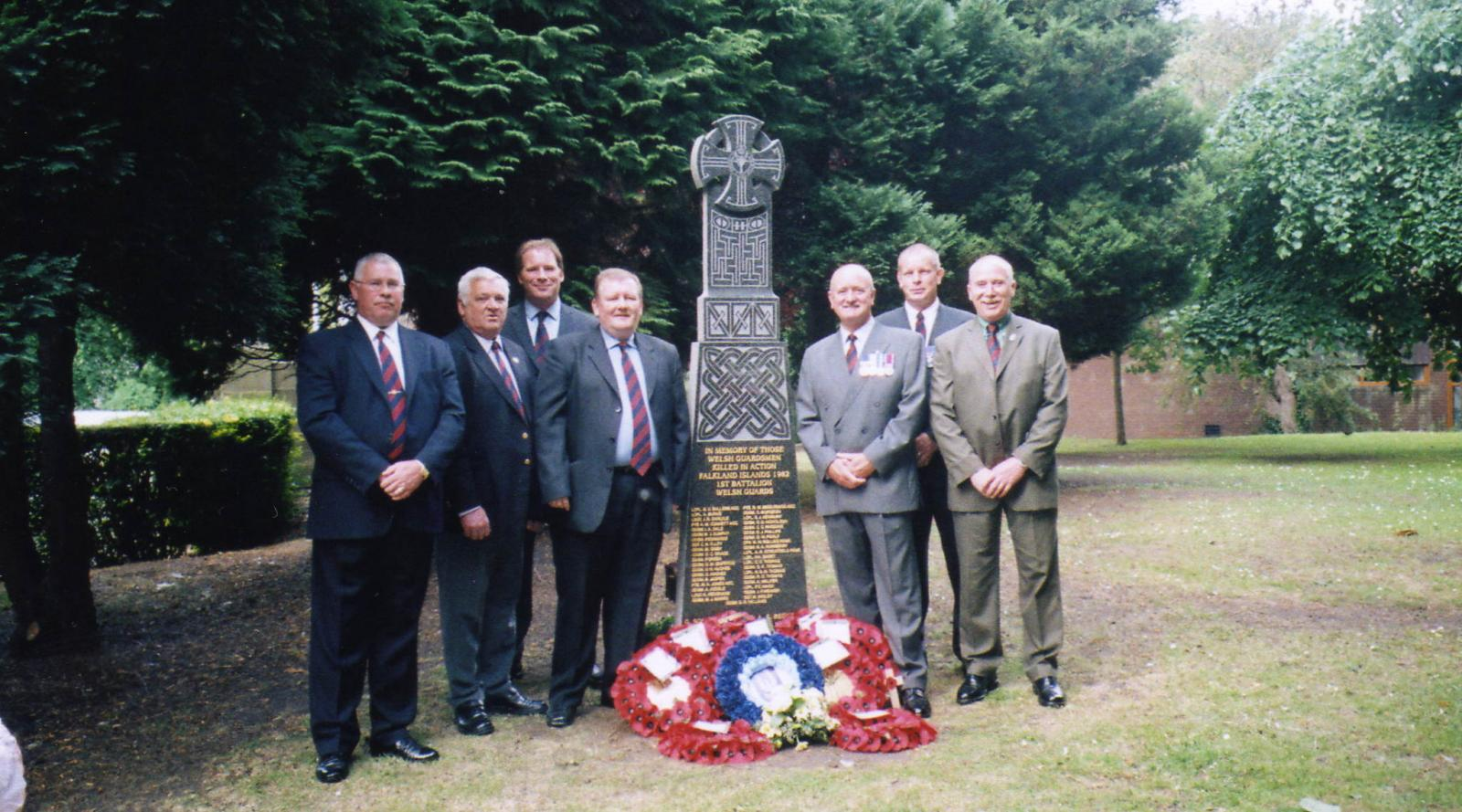 Welsh Guards Memorial Wrexham 2005