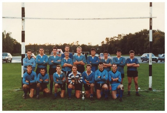 1 WG Rugby Team Bergen Hohne 1987..undefeated...&#33;