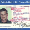 Ric Rees 1 WG Rail Pass 1987.............