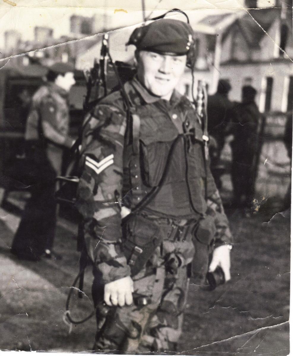 Belfast 71 Mick Matthews