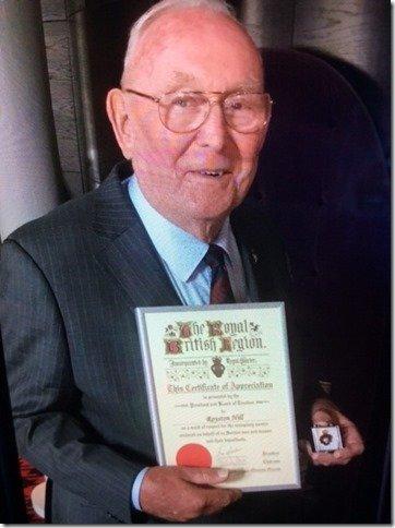Roy Hill RBL Award