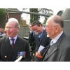 Commemoration Hechtel 2013 : Colonel T C S Bonas, the mayor Jan Dalemans and Gerard Wuyts.