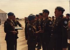 Presentation of UN Medals