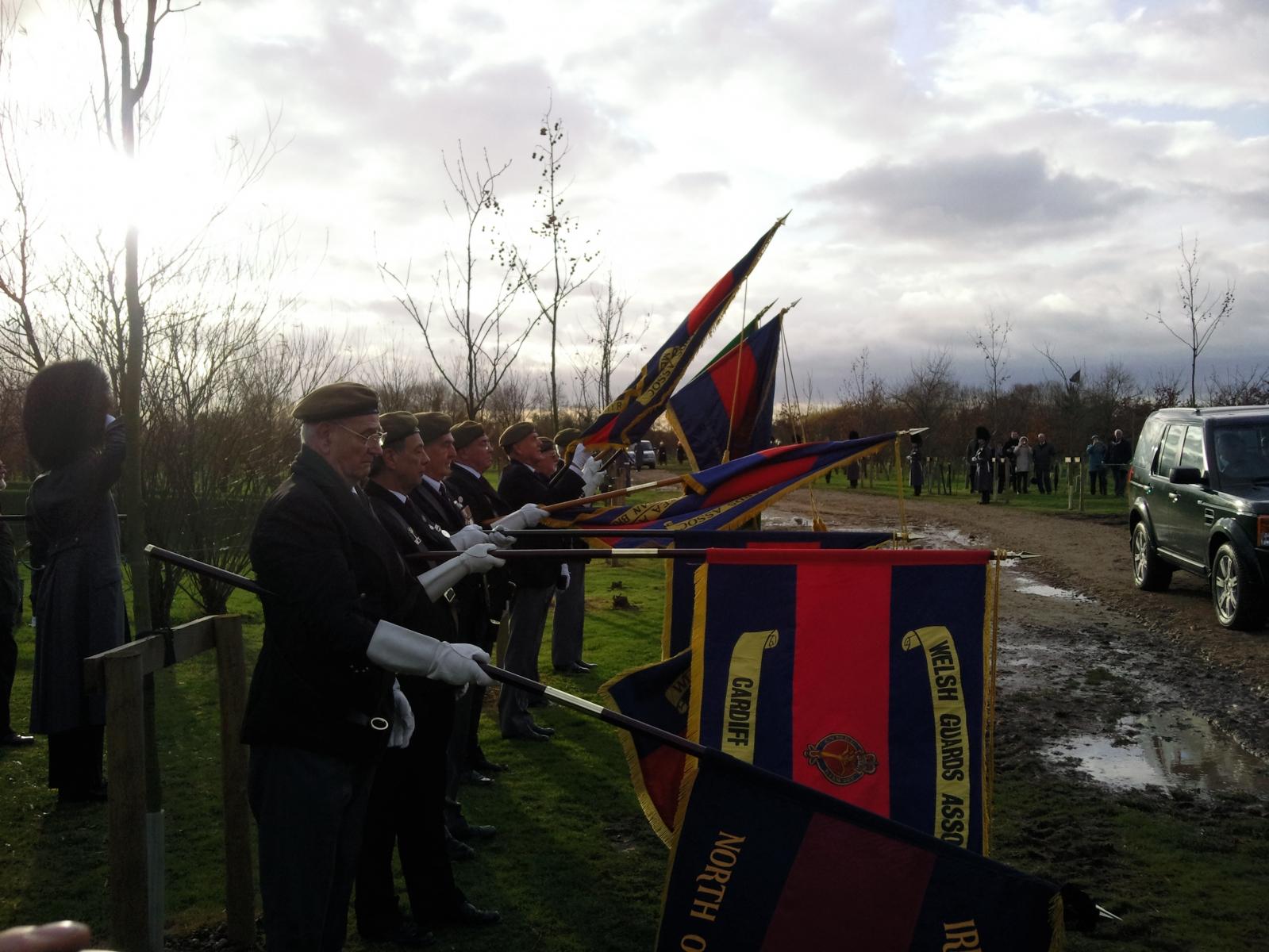 Household Division Memorial Dedication 3/12/09