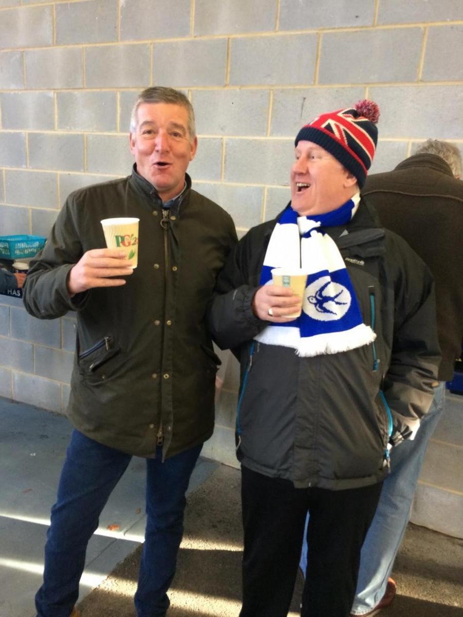 Cardiff City FC latest signings, 'Fabio' Spider Webb & Bob 'Malone' Roberts