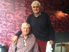 Tony Davies 22 & Dave Woods - Presidents Annual Lunch Canterbury