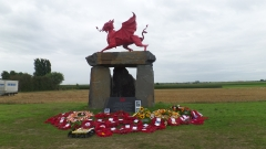 New Memorial to The Welsh in the Ypres Salient