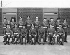 Guards Depot Pace stick team  circa 1968